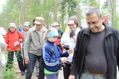 Luonnonkukkien päivän retki 16.6.2013 Muurasjärvellä Lahnalassa
